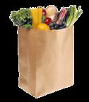 Grocery bag: $50