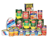 Canned goods: $5